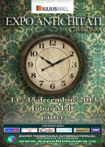 Expo antichități - Timișoara, 13-15 decembrie 2013